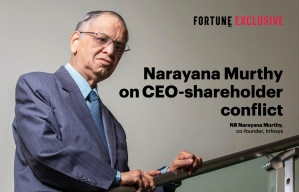 Narayana Murthy on CEO-shareholder conflict