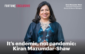 Covid-19 is an endemic, not pandemic: Mazumdar-Shaw