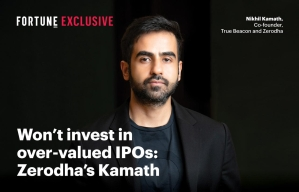 Won't invest in over-valued IPOs: Zerodha's Kamath