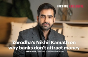 Nikhil Kamath on why banks don't attract money