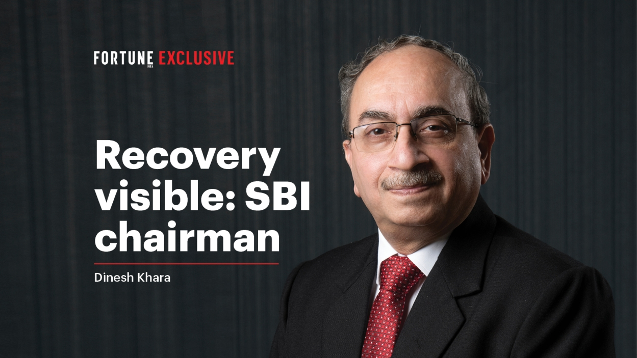 Growth signs visible: SBI chairman