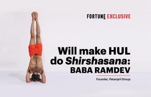 Will make HUL do Shirshasana, says Ramdev