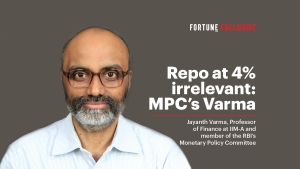 Repo at 4% irrelevant: Jayanth Varma
