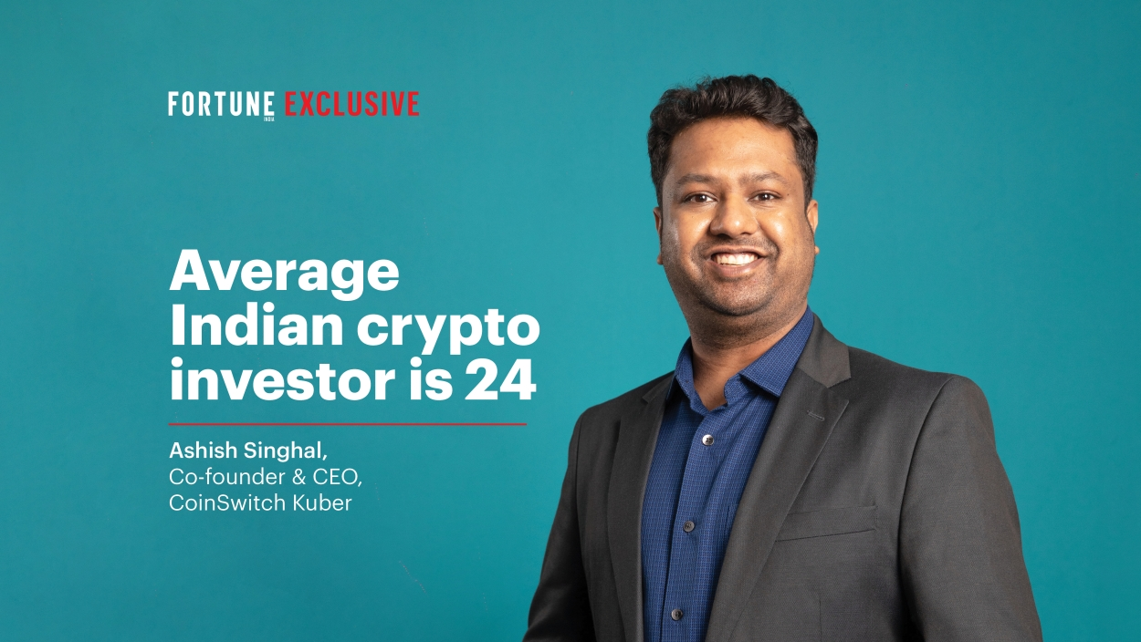 Average Indian crypto investor is 24