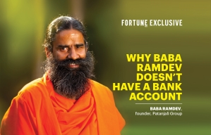 Why Baba Ramdev doesn't have a bank account