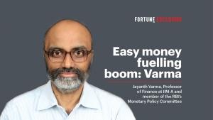Easy money fuelling speculation: MPC's Varma