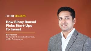 Binny Bansal: India's prolific startup investor