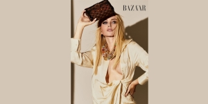 Model Jessica Knura, who has been on the cover of Harper's Bazaar, talks about her shoot day