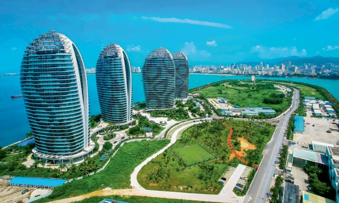 China's Hainan island, a duty free destination, has contributed a lot to the boom in Chinese luxury spending