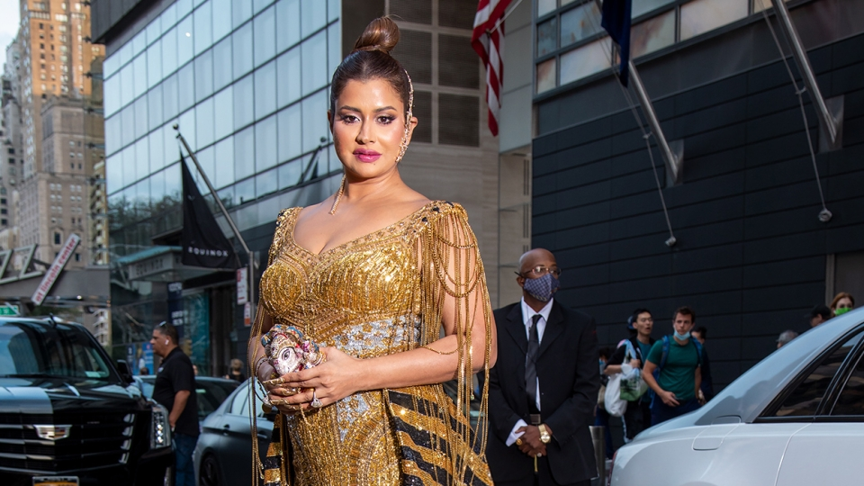 Hyderabad's billionaire philanthropist, Sudha Reddy is a cynosure of all eyes at the 2021 Met Gala