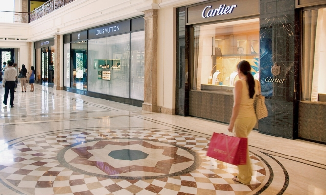 Campaigns have played a key role in assuring customers that malls are safe.