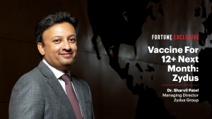 VIDEO - Covid-19 vaccine for 12+ kids by Oct: Zydus' Sharvil Patel
