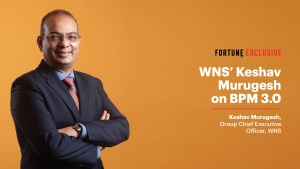 VIDEO - Indian tech industry set for 'good times': WNS' Keshav Murugesh