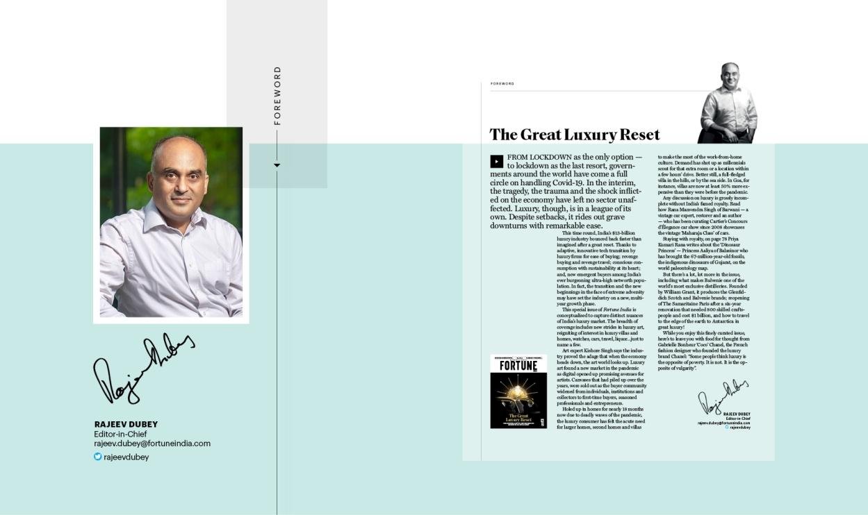 The great luxury reset