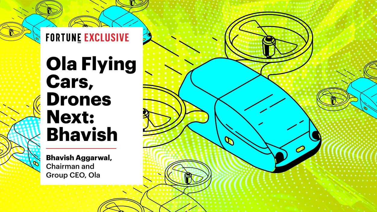 Ola working on flying cars, drones next: Bhavish Aggarwal