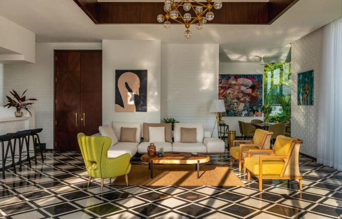 Inside a Vianaar villa in Goa