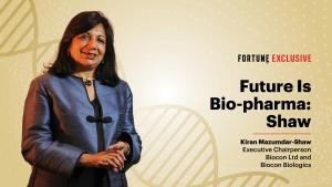 VIDEO - Future is bio-pharma: Kiran Mazumdar-Shaw