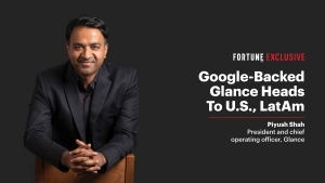 With 150 mln Indian users, Glance eyes U.S., LatAm