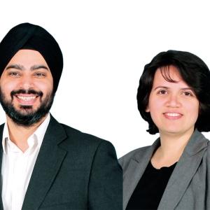 Bipin Preet Singh and Upasana Taku