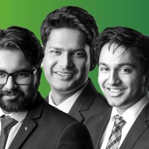 Saket Modi, Rahul Tyagi, Vidit Baxi
