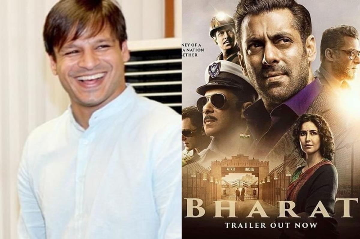 Oops! Vivek Oberoi promotes Salman Khan's 'Bharat' in his recent tweet