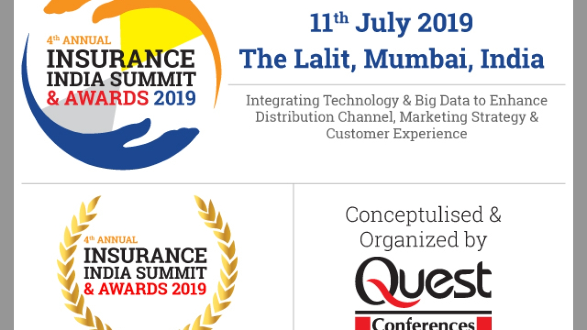4th Annual Insurance India Summit & Awards 2019