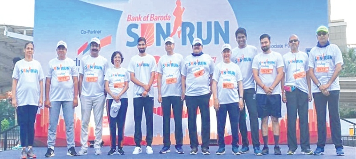 5-km marathon at BKC