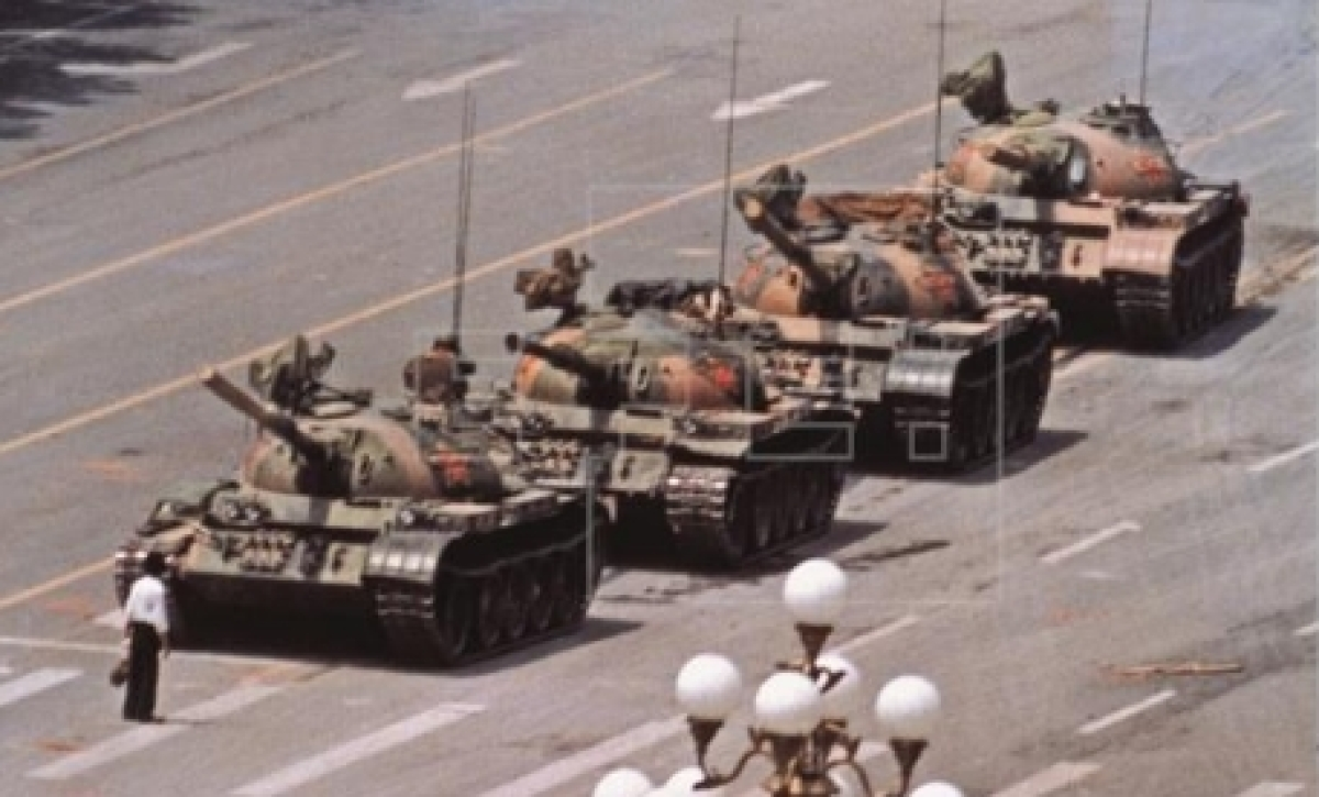 Iconic Tank Man pic was luck: Photographer