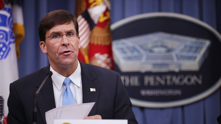 US wants to quickly deploy new missiles in Asia: Mark Esper