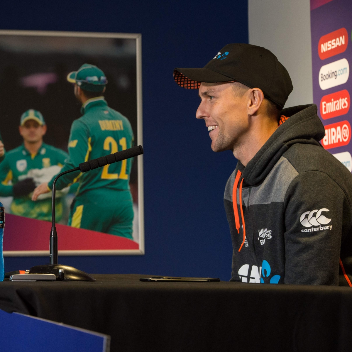 Trent Boult desires to play against South Africa's AB de Villiers