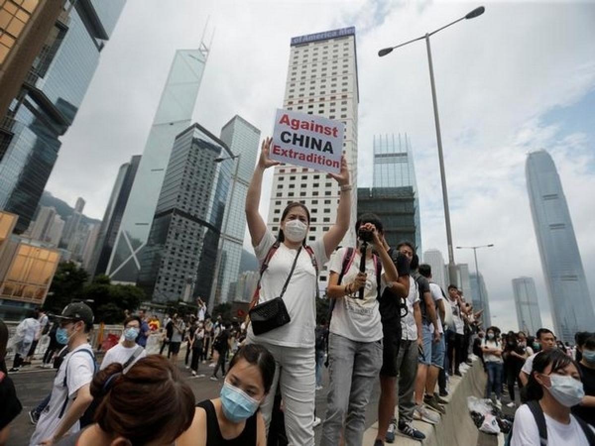 Advancing China in Hong Kong