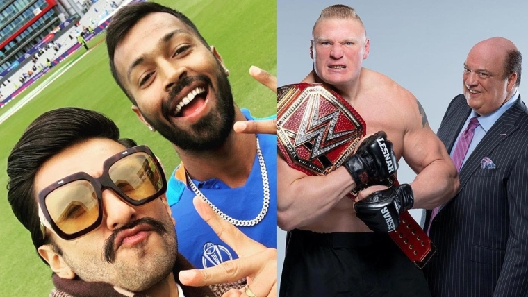 Ranveer Singh threatened by WWE star Brock Lesnar's manager over catchphrase on social media