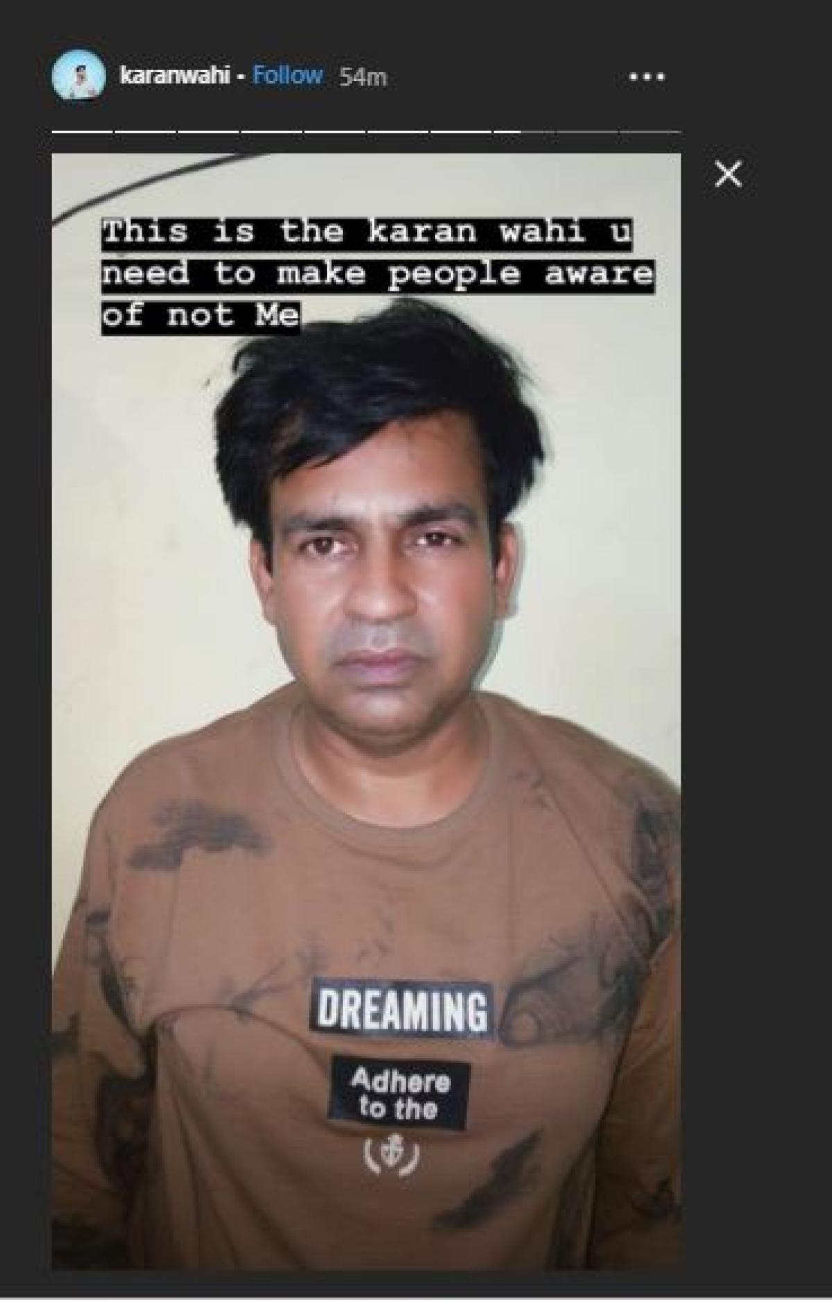 Karan Wahi arrested for molesting 22-year-old model? Actor clarifies