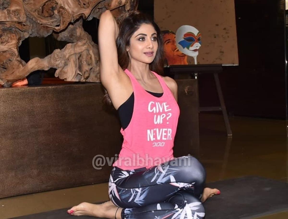Shilpa Shetty celebrates fitness ahead of International Yoga Day