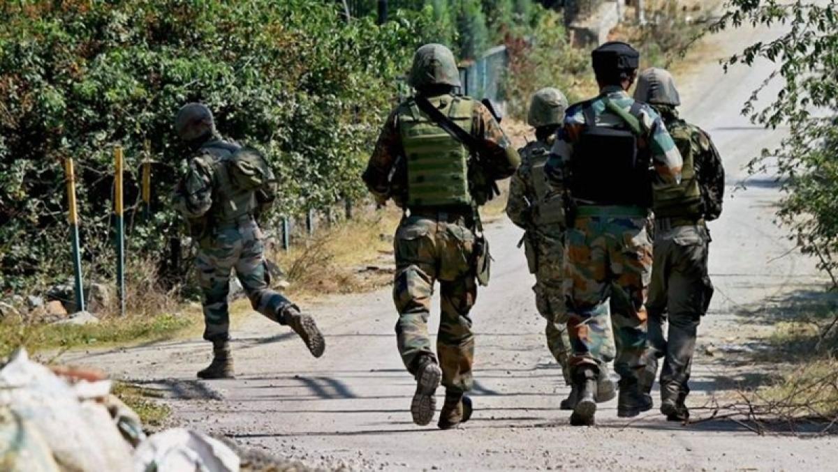 Encounter under way between security forces, militants in Anantnag