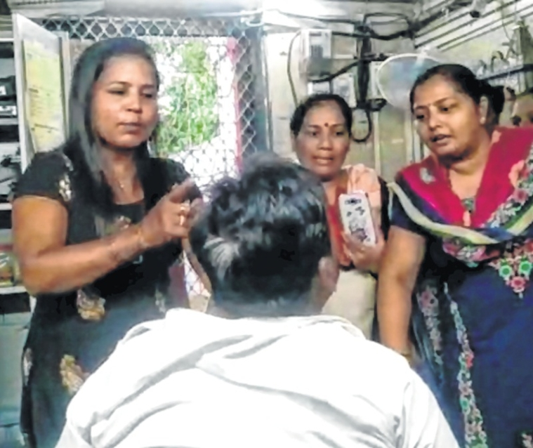 Railway booking clerk steals mobile; thrashed by woman, video viral