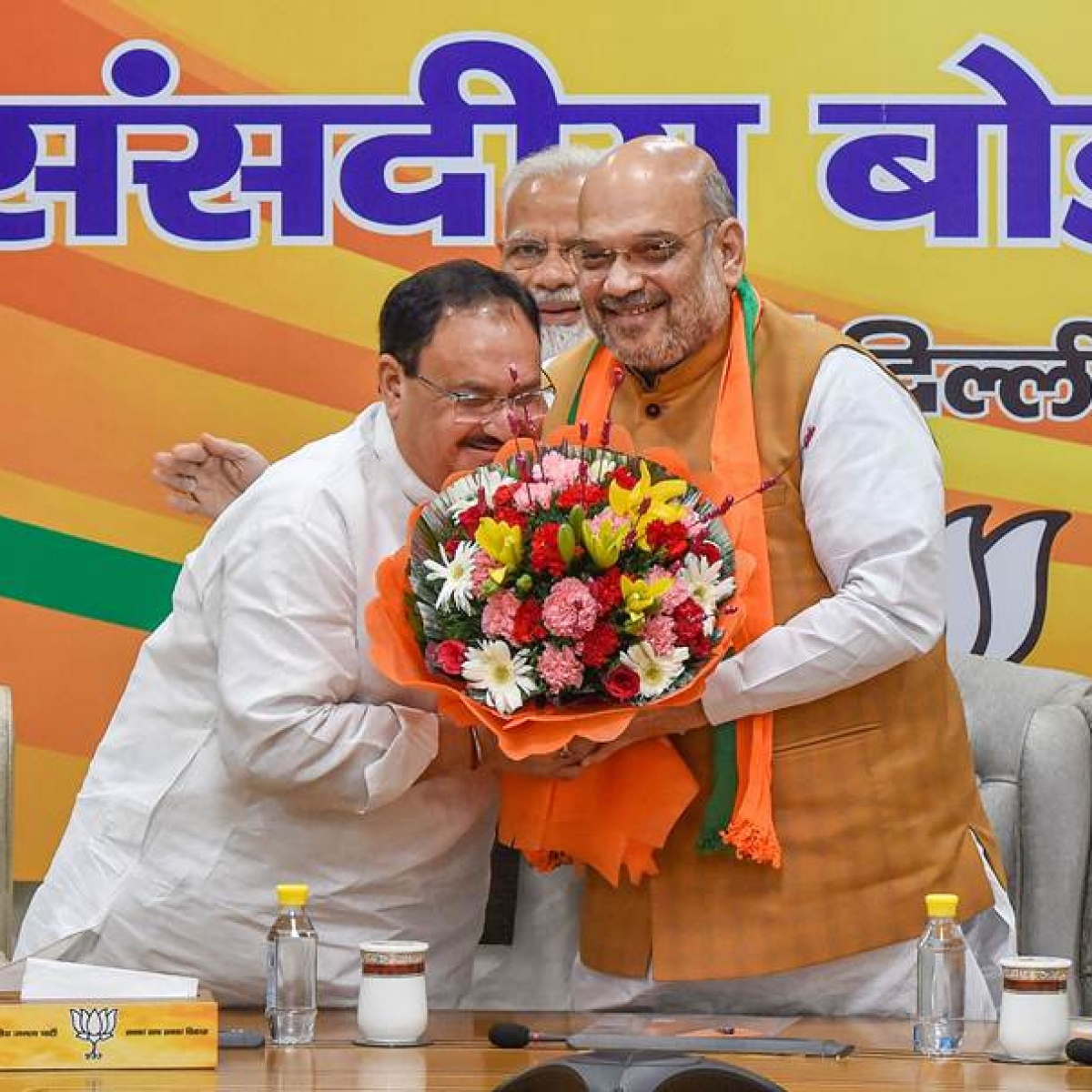 JP Nadda takes over from Amit Shah; elected unopposed as BJP National President