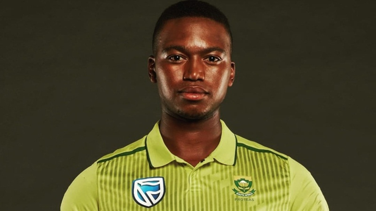 South Africa's Right-arm pacer Lungi Ngidi