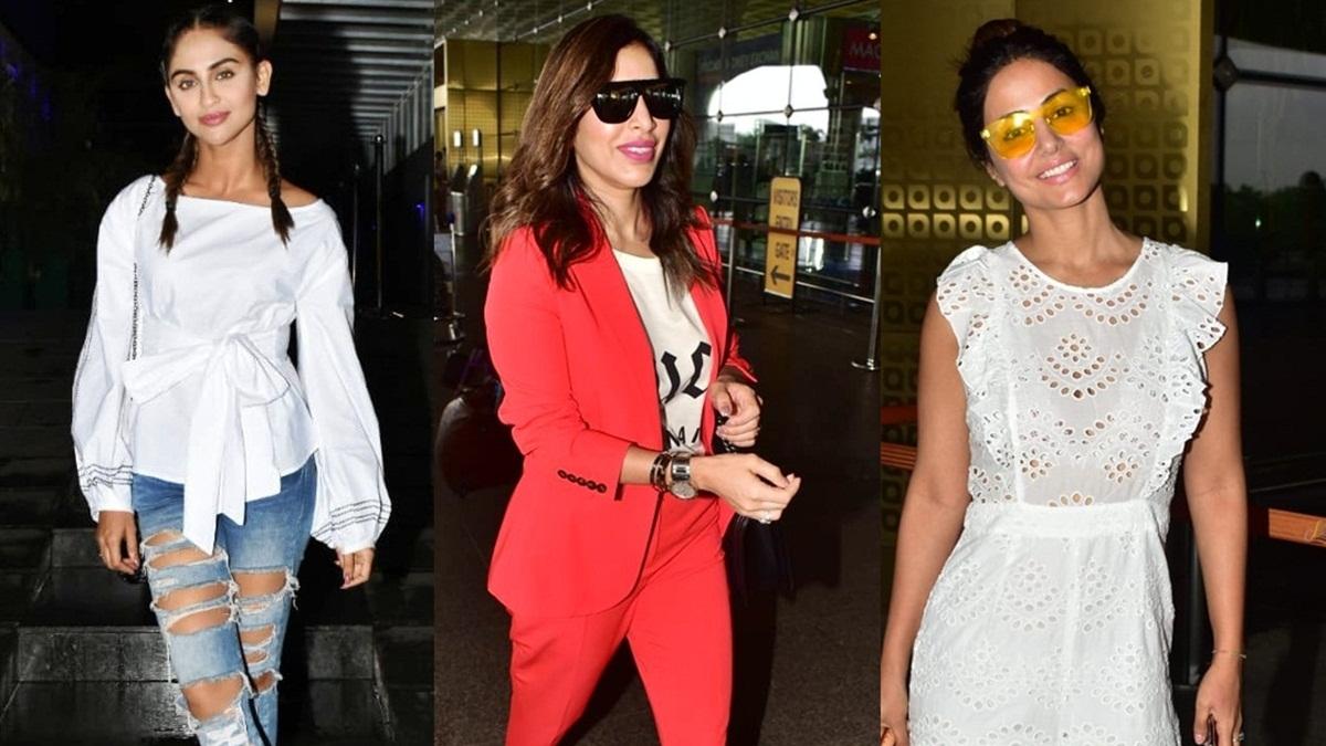Did you see these pics of Malaika Arora, Allu Arjun and Krystle D'Souza?