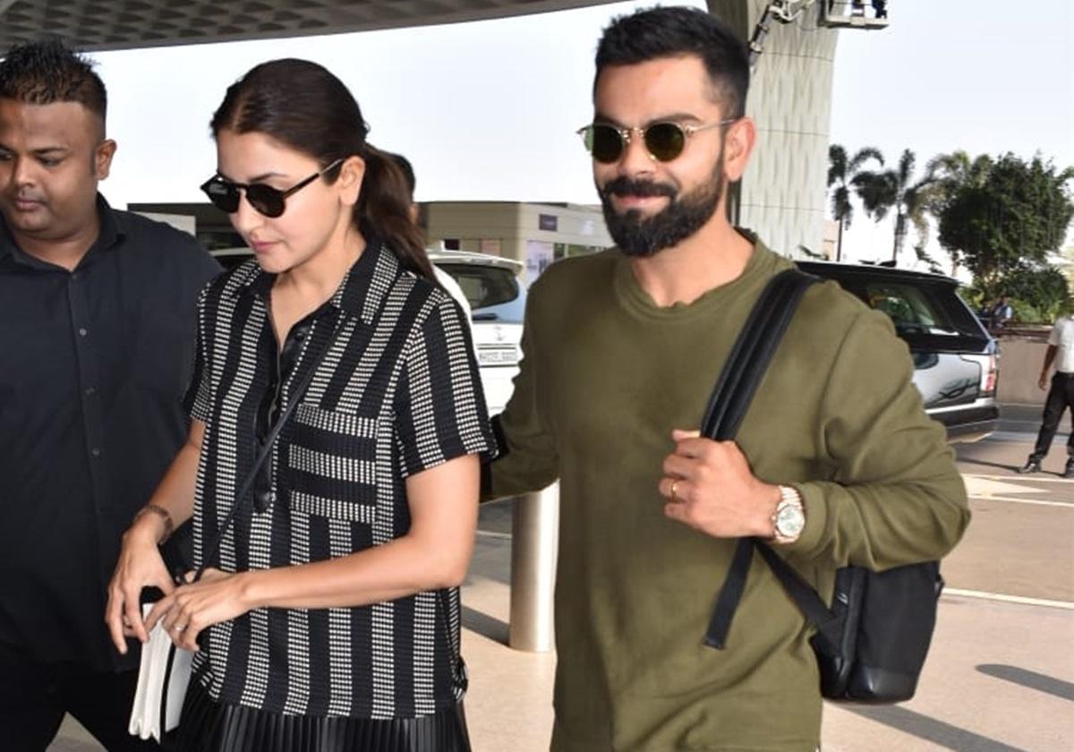Ahead of West Indies series Anushka Sharma joins hubby Virat Kohli in Miami