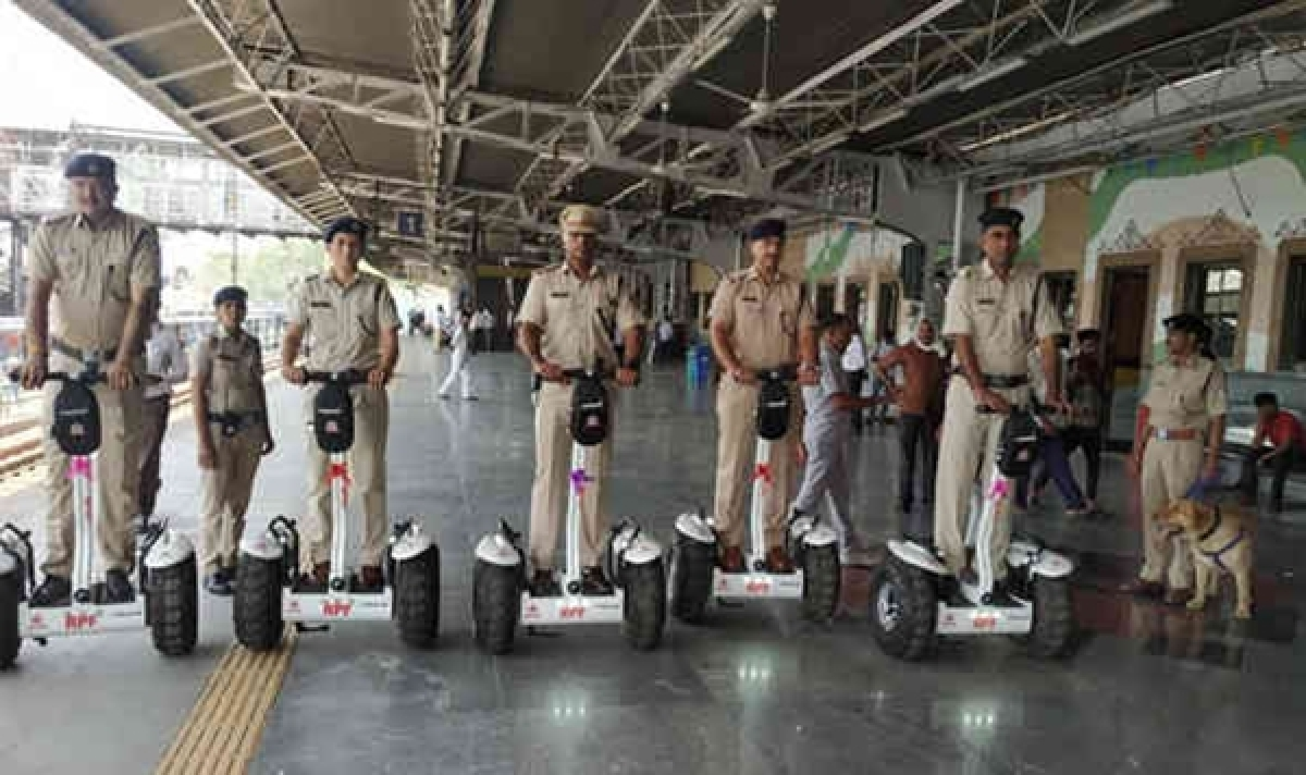 Two-wheeled Segways come to Ahmedabad railway station
