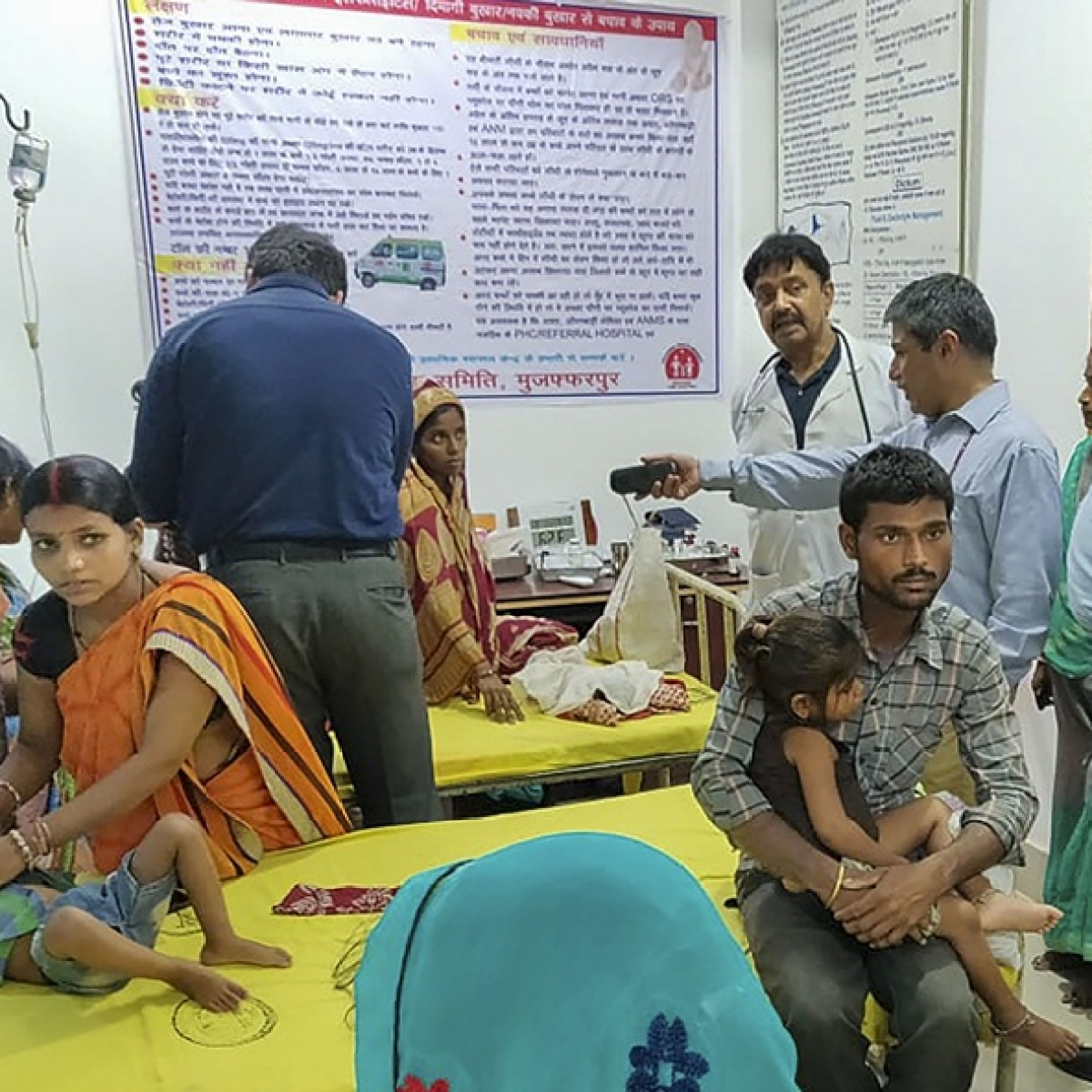 Bihar: Doctors' leave cancelled, new ward set up to tackle cases of Encephalitis, says ANMMC Medical Superintendent