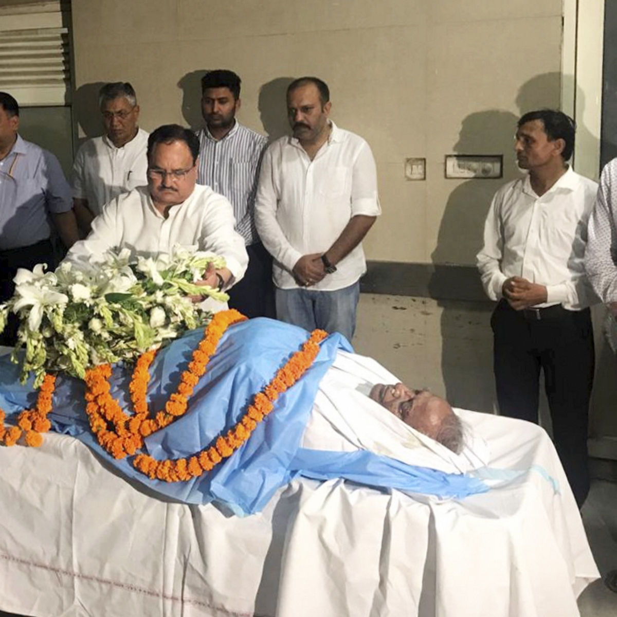 Madan Lal Saini's mortal remains to be consigned to flames in Sikar district