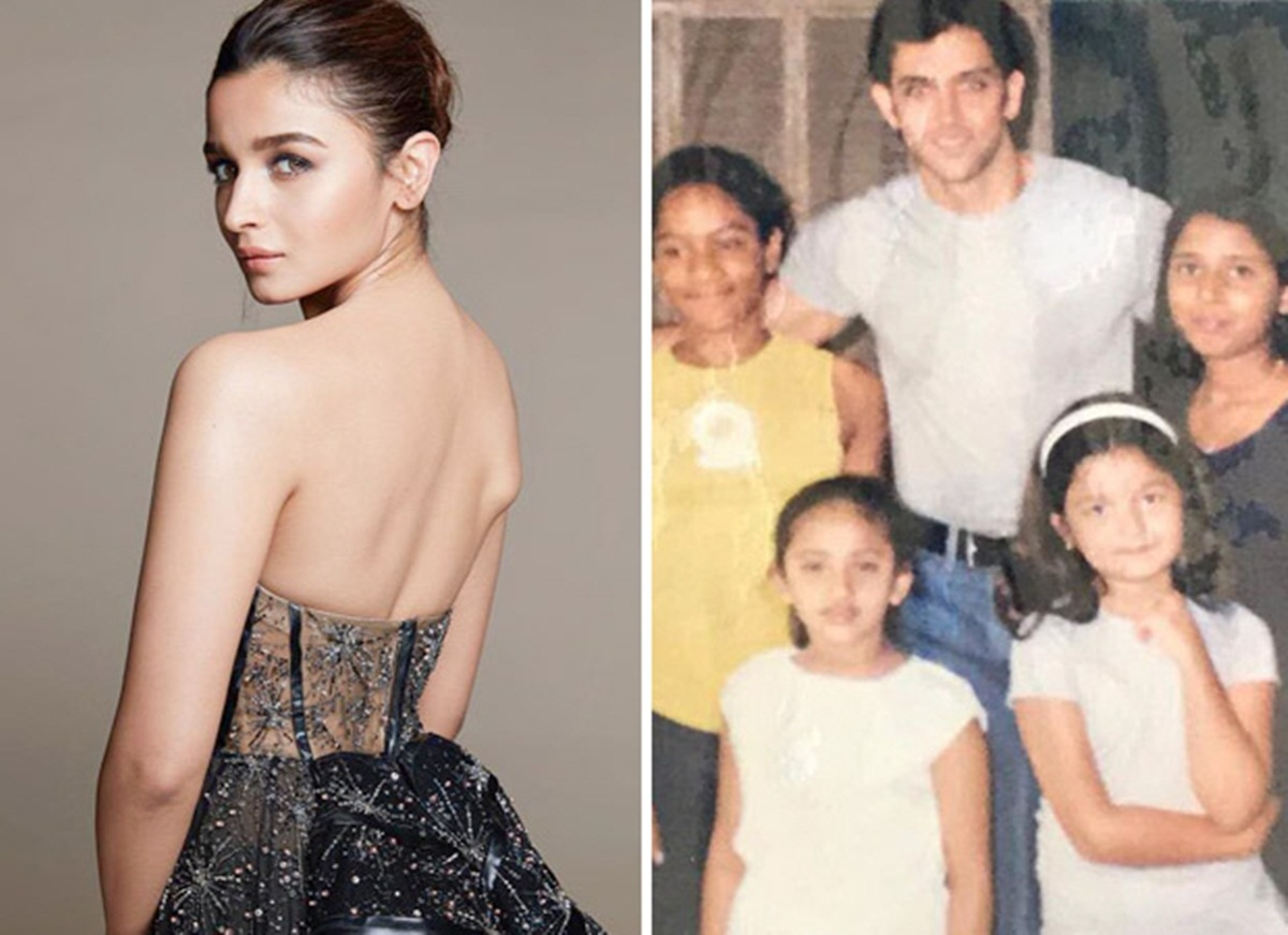 Can you spot Alia Bhatt in this childhood pic with Hrithik Roshan?