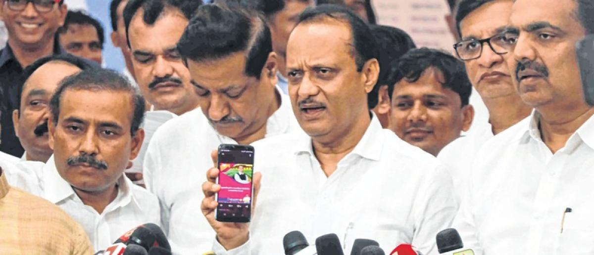 Budget leaked on Finance Minister Sudhir Mungantiwar's twitter handle?