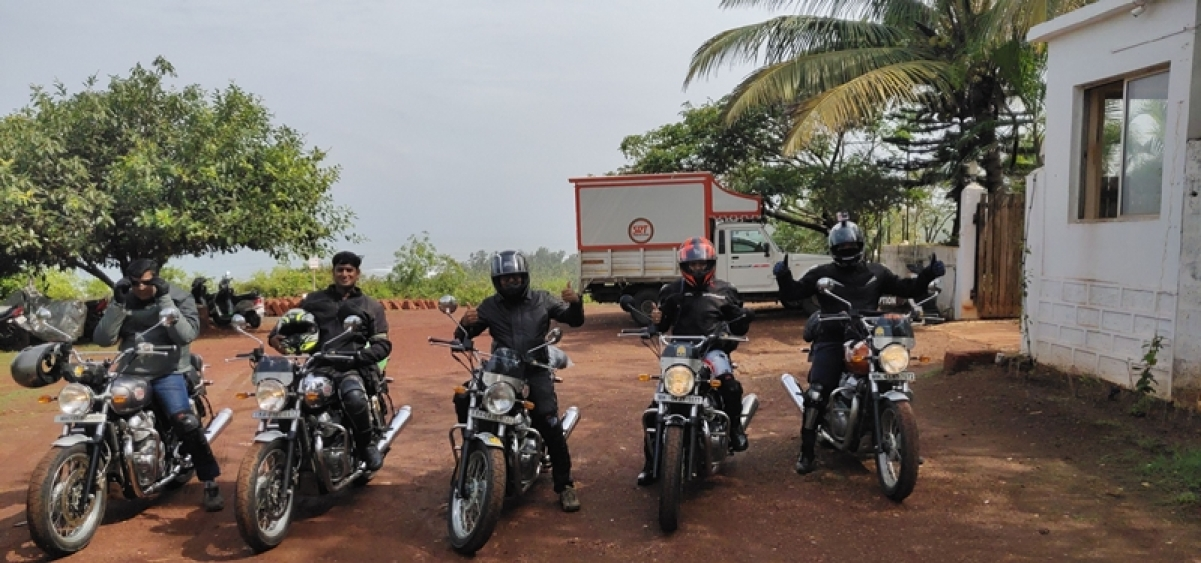 Chasing the sunset: Joys of riding alongside the Royal Enfield pack