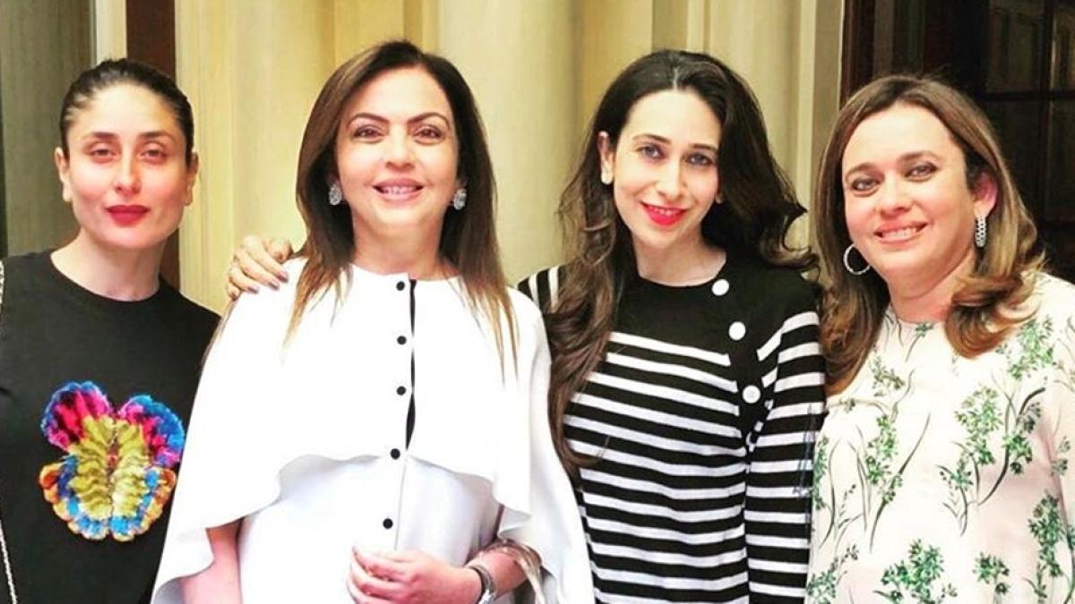 Kareena Kapoor, Karisma Kapoor spend 'wonderful afternoon' in London with Nita Ambani