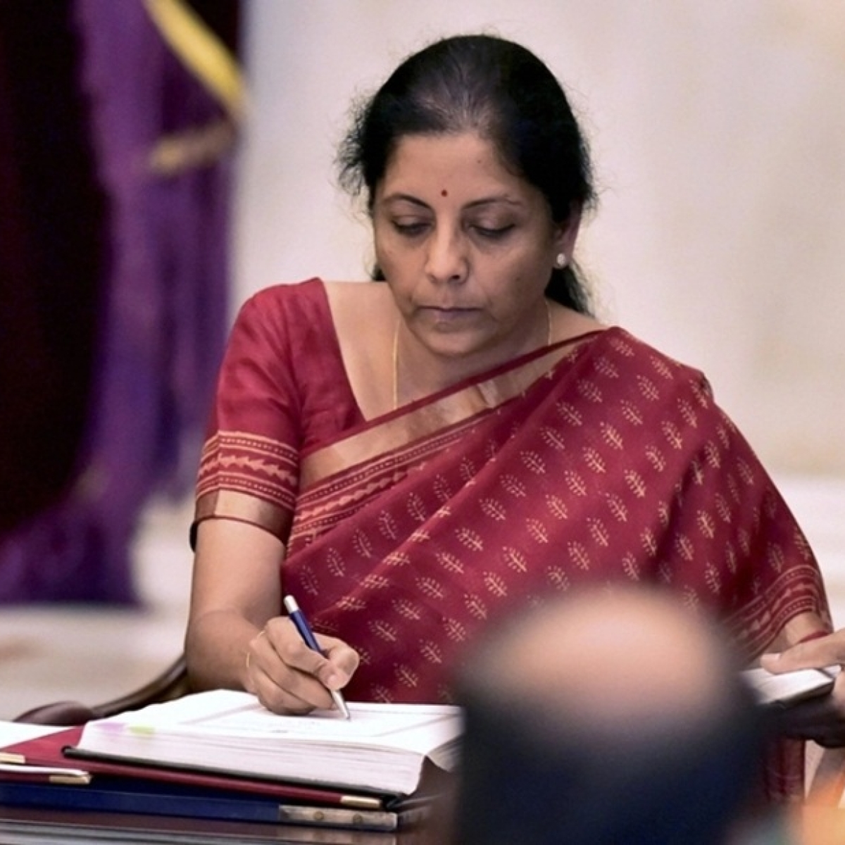 In Forbes' list of powerful women, FM  ranks 34th