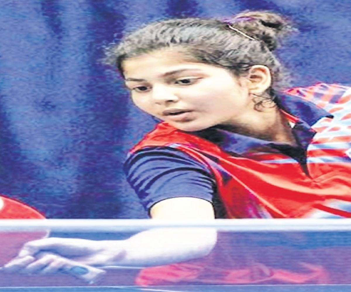 MCF -All Mumbai 4-Star Ranking Table Tennis tournament; Top seed Anannya Basak impressive