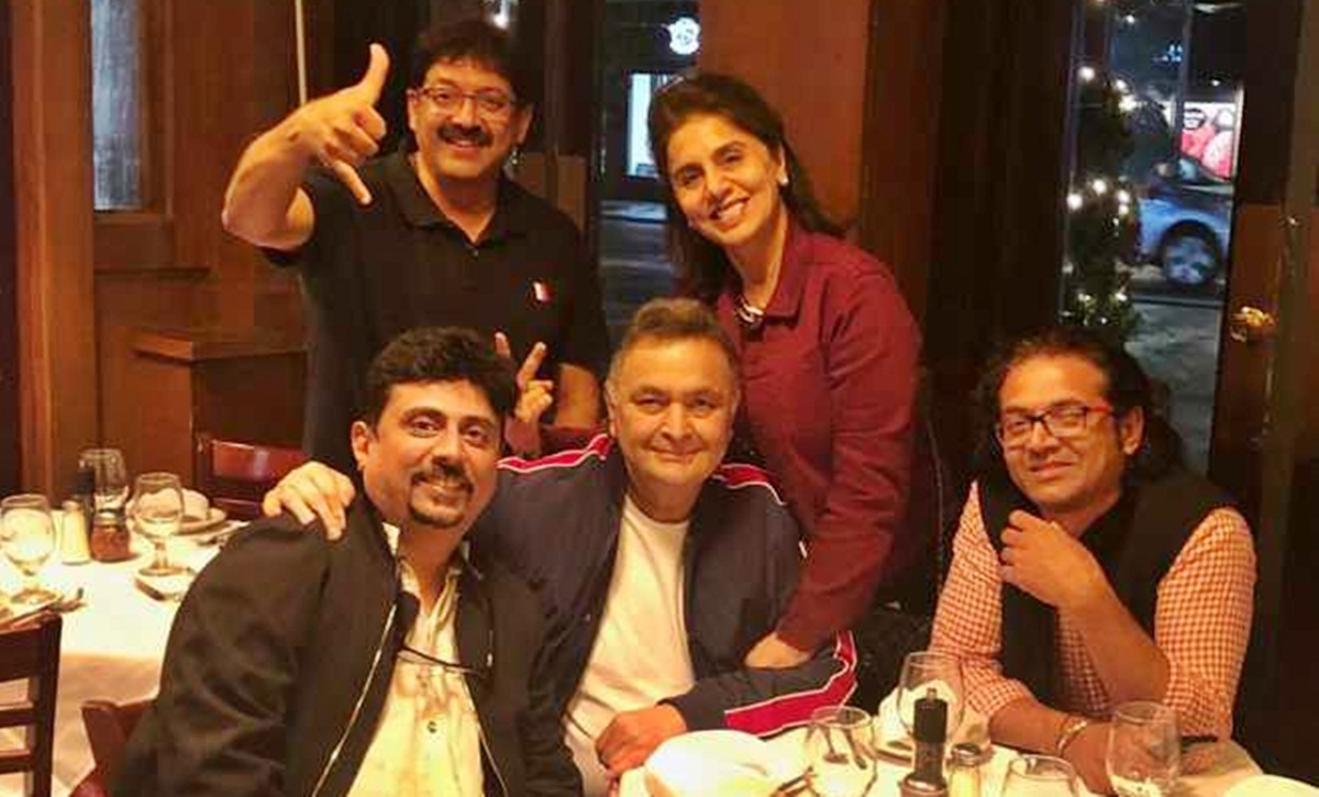 '102 Not Out' gang meets Rishi Kapoor and Neetu in New York